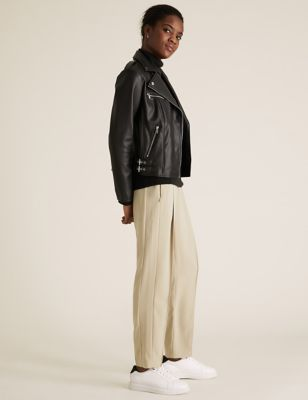Tapered Ankle Grazer Trousers