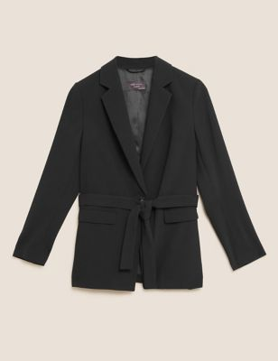 Relaxed Belted Blazer