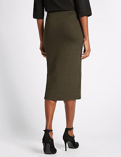 Side Split Pencil Skirt | M&S