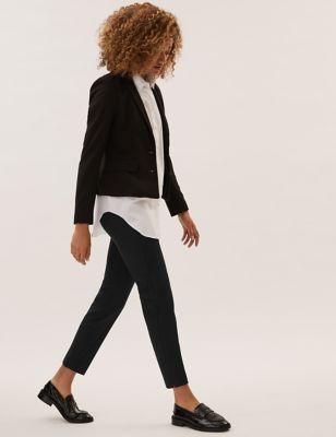 Slim Ankle Grazer Trousers