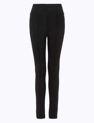 Jersey Skinny Ankle Grazer Trousers