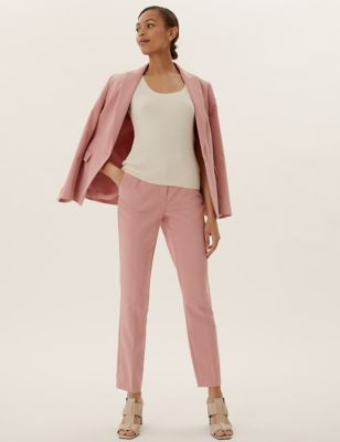 Slim Fit Ankle Grazer Trousers