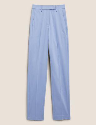Mia Slim Cotton 7/8 Trousers