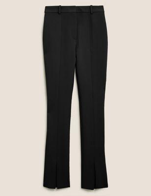 Split Front Skinny Trousers