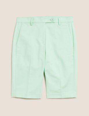 Cotton Tailored Chino Shorts