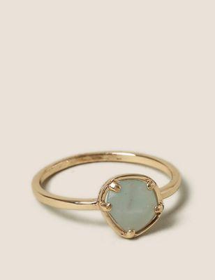 Semi-Precious Aventurine Stone Ring