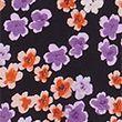 Floral Puff Sleeve Knee Length Shift Dress - multi