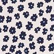 Ditsy Floral Puff Sleeve Mini Tea Dress - pinkmix