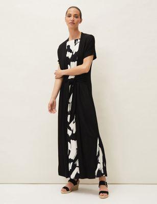 Short Sleeve Relaxed Longline Cardigan
