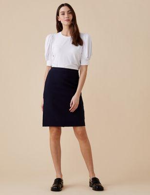 Petite Knee Length Pencil Skirt