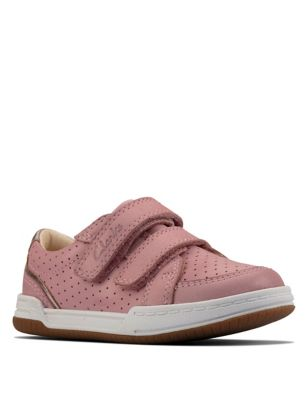 Baby Leather Riptape Trainers (Toddler size 4-9.5)