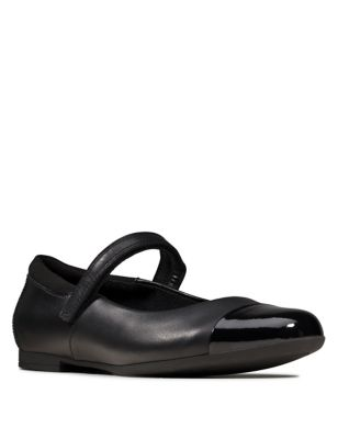 Kids' Leather Mary Jane Shoes (Youth size 3-8)
