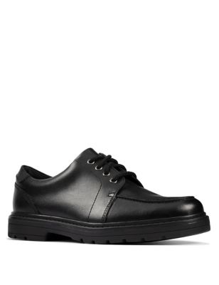 Kids' Leather Lace Up School Shoes (Youth size 3-9)