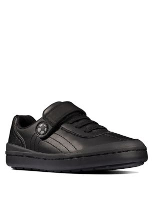 Kids' Leather Football School Shoes (Kid size 10-2.5)