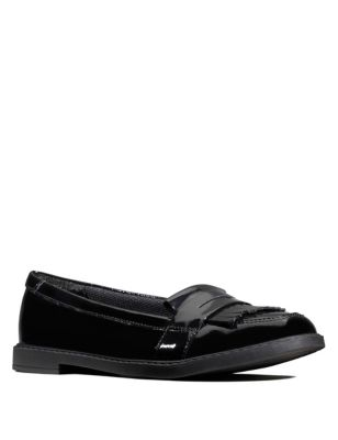 Kids' Leather Slip-on Loafers (Youth size 3-8)