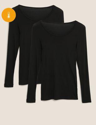 2pk Heatgen™ Thermal Long Sleeve Tops