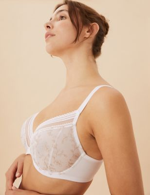 Archive Embroidery Underwired Plunge Bra F-H