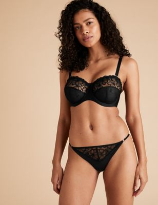 Embrace Embroidered Underwired Strapless Bra F-H