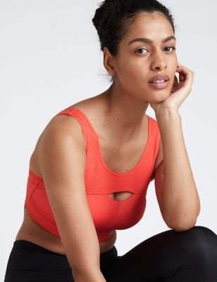 Extra High Impact Non Wired Sports Bra F-H