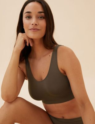 3pk Seamfree Non Wired Crop Tops
