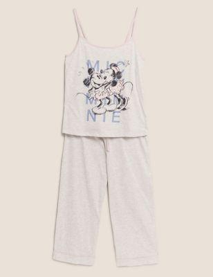 Mickey Mouse™ Cotton Cropped Pyjama Set