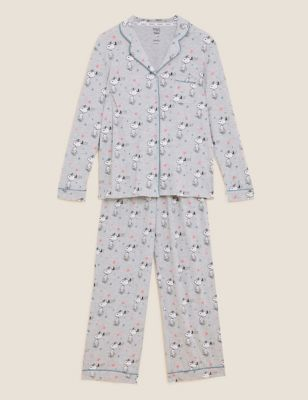 Snoopy™ Cotton Rich Rever Pyjama Set