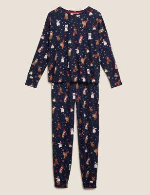 Women's Santa Paws Family Pyjama Set