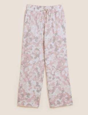 Cosy Knit Lounge Camouflaged Wide Leg