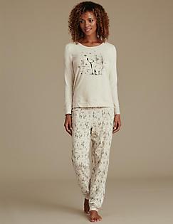 6a4077e4264f Cotton Rich Polar Bear Pyjamas