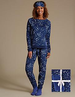 c22aef51248b ... swatch Long Sleeve Checked Pyjama Set