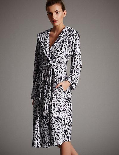 Womens Leopard Print Dressing Gown - Best Leopard 2017