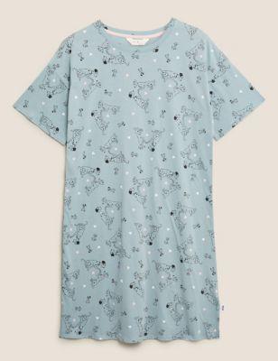 Pure Cotton 101 Dalmatians Short Nightdress