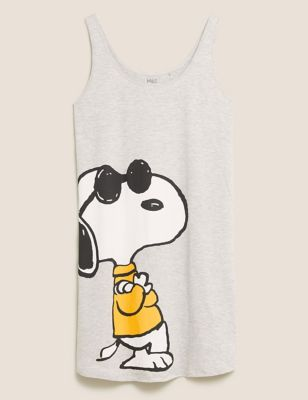 Snoopy™ Print Cotton Short Nightdress