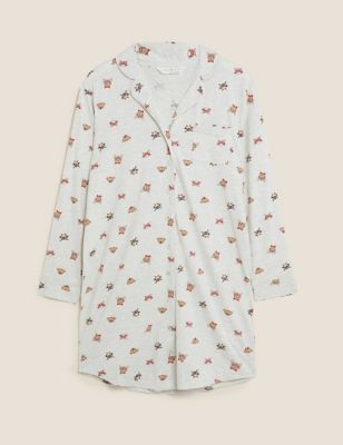 Cotton Rich Dogs and Cats Nightshirt