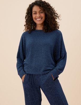 Cosy Lounge Rib Sweatshirt