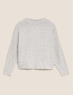 Cosy Lounge Ribbed Sweatshirt