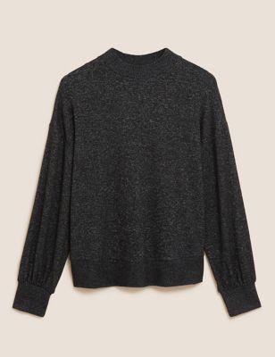 Cosy Knit Lounge Sweatshirt