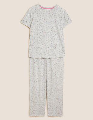 Cotton Rich Ditsy Floral Pyjama Set