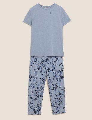 Cotton Animal Print Pyjama Set