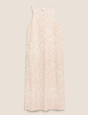 Flexifit™ Animal Print Lounge Dress
