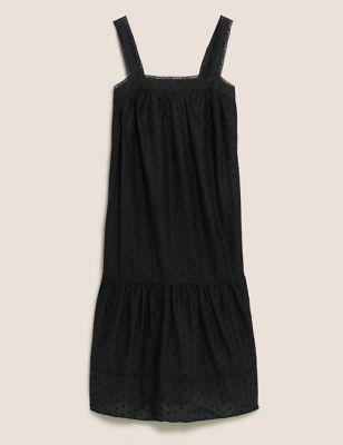 Pure Cotton Long Nightdress
