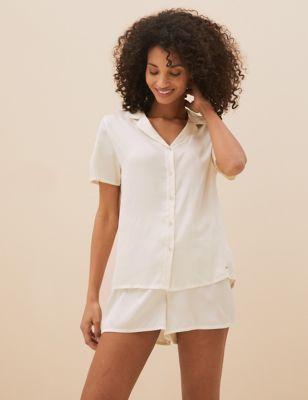 Satin & Lace Bridal Pyjama Set