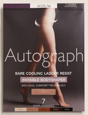 7 Denier Cool Comfort™ Body Shaper Tights