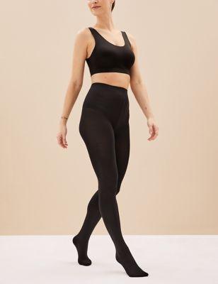 2pk 100 Denier Body Sensor™ Opaque Tights