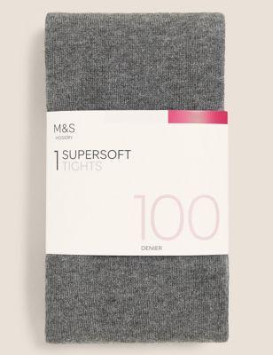 100 Denier Supersoft Opaque Tights