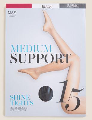 15 Denier Medium Support Tights