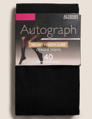 40 Denier Velvet Touch Luxe Tights