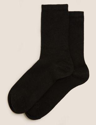 2pk Heatgen™ Thermal Ankle High Socks