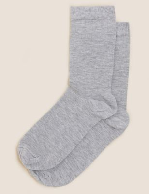 2pk  Socks with Cashmere