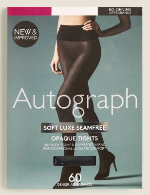 60 Denier Soft Luxe Seam Free Opaque Tights
